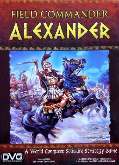 Field Commander Alexander Cover