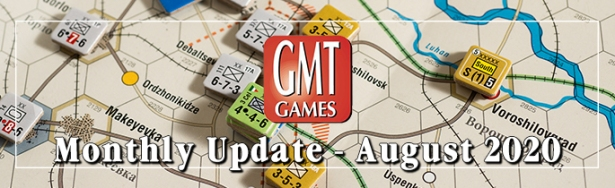 GMT Games Monthly Update August Banner