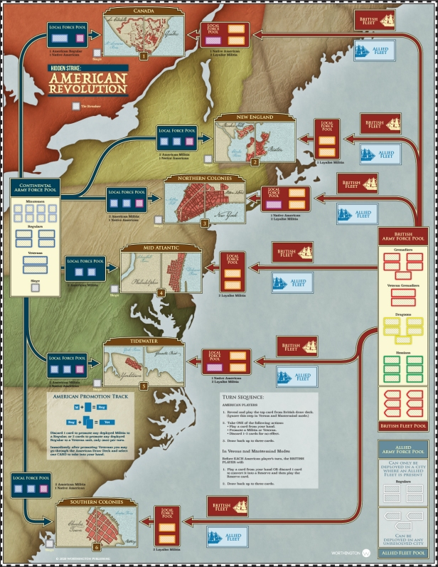 Hidden Strike American Revolution Board Final Version