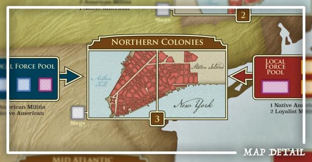 Hidden Strike American Revolution Map Detail