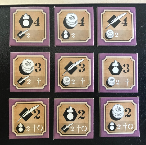 Imperial Struggle Investment Tiles 3