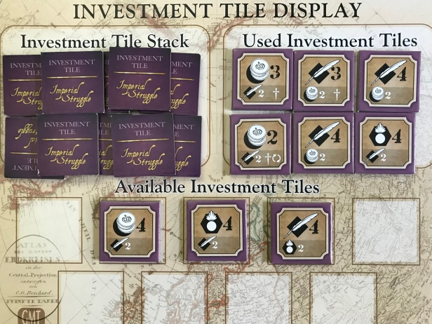 Imperial Struggle Investment Tiles Used