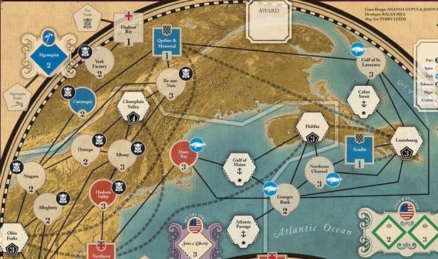 Imperial Struggle Map Canada