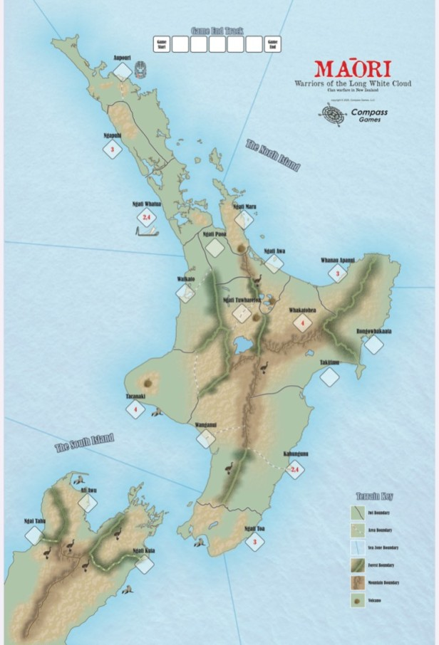 Maori Map