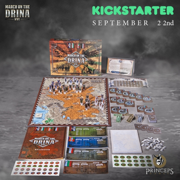 March on the Drina Kickstarter Banner