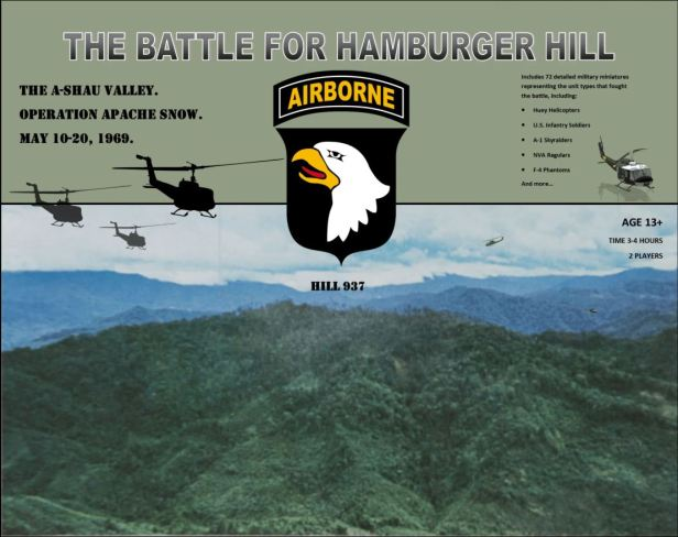 The Battle for Hamburger Hill Cadet Games Cover