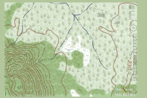 They Were Soldiers Map