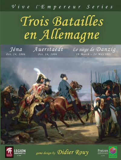 Trois Batailles en Allemagne Cover