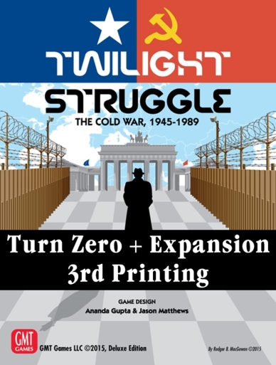 Twilight Struggle Turn Zero Expansion Cover