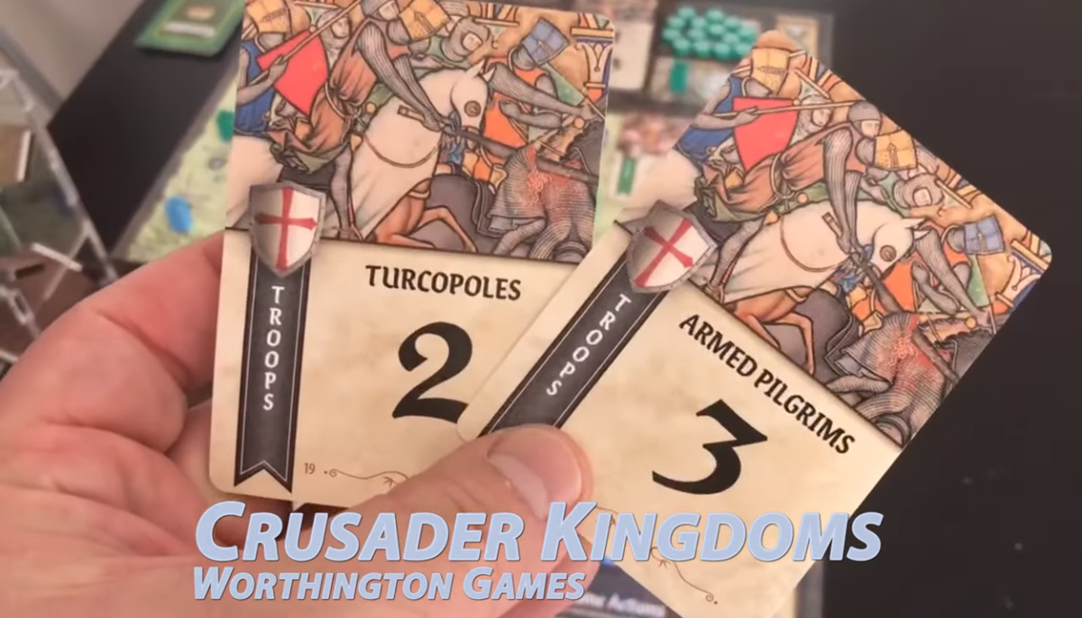 Playthrough Video: Crusader Kingdoms: The War for the Holy Land from Worthington Publishing