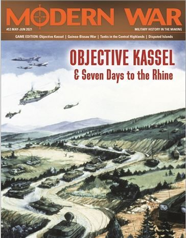 Interview with Ty Bomba Designer of 7 Days to the Rhine: Objective Kassel in Modern War No. 53 from Strategy & Tactics Press