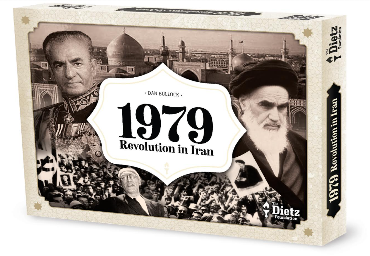 Interview with Dan Bullock Designer of 1979: Revolution in Iran from The Dietz Foundation Currently on Kickstarter