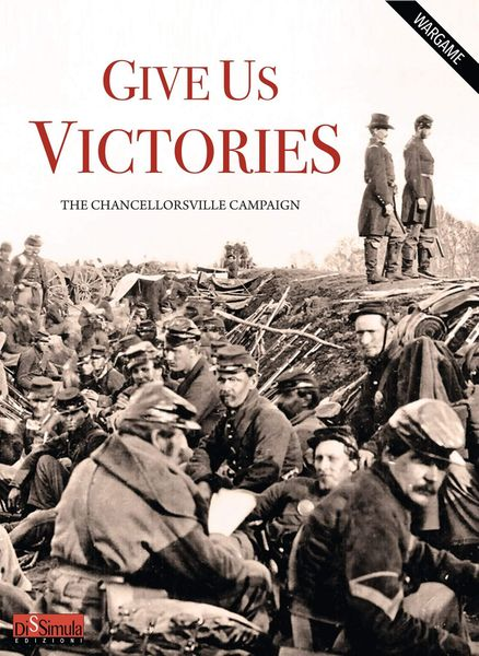 Interview with Sergio Shiavi Designer of Give Us Victories: The Chancellorsville Campaign from Dissimula Edizioni Currently on Kickstarter